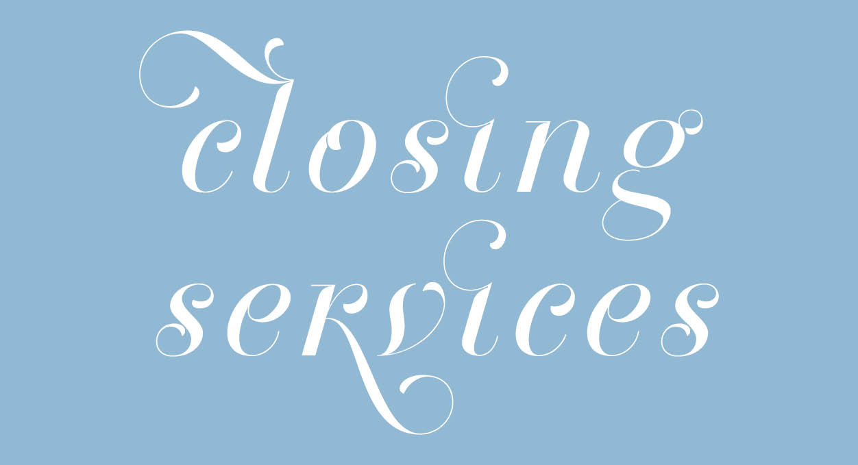 closing services web
